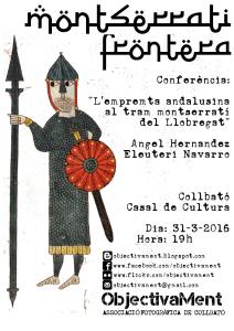 """Conferència: """"L'emprenta andalusina al tram montserratí del Llobregat"""" @ Casal de Cultura de Collbató"""