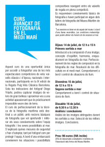 Curso avanzado de fotografía de mar, Regata Puig Vela Clàssica Barcelona